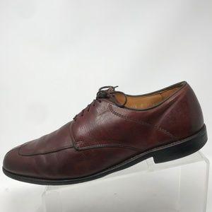 Allen Edmonds Shoes - Allen Edmonds Denton Classic Blucher Oxfords Brown